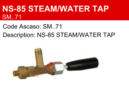 San Marco Steam / Water Tap