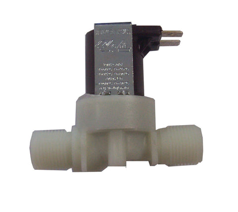 "Single 180 Degree Solenoid Valve, 230v, Comes With 3/8"" BSP Male Threads"