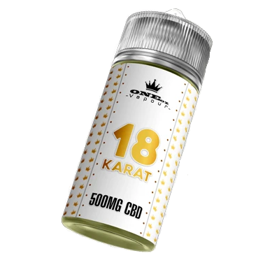 18 Karat CBD 500mg by ONEoz & TKO 100ml