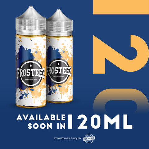 THE WAIT IS OVER!! Nostalgia - Frosteez 120ML | Vape Junction