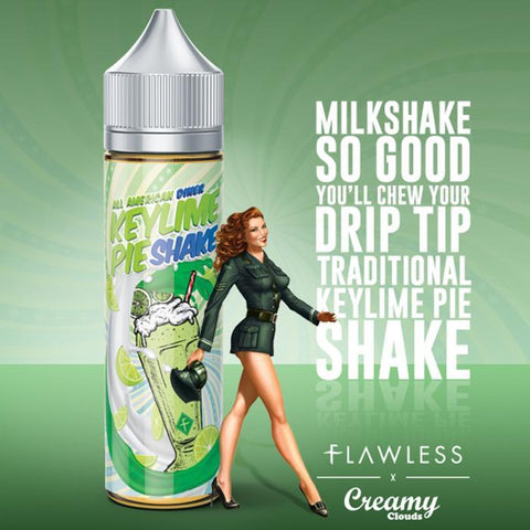 Key Lime Pie Shake by Flawless - 60ml | Vape Junction