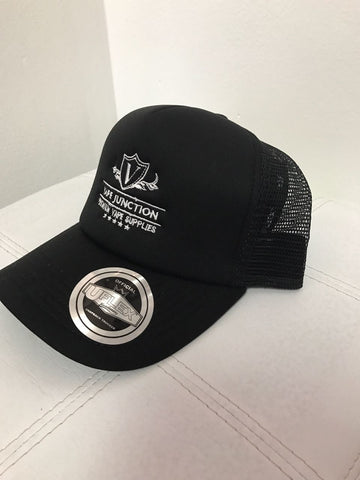 VJ | Trucker Cap Black | Vape Junction