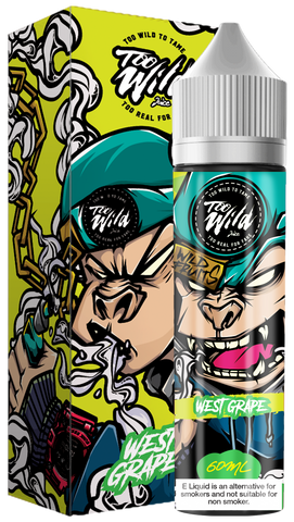 West Grape by Too Wild Juice 60ml | Vape Junction