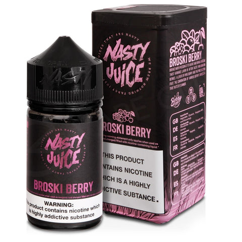 Berry Series - Broski Berry by Nasty Juice 60ml | Vape Junction