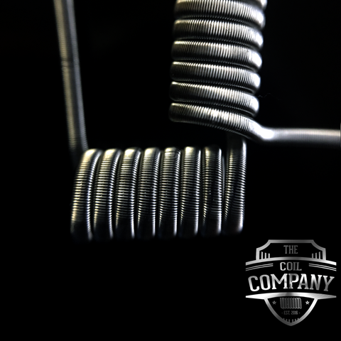 Fused Clapton - Set of 2 Coils (2x26/38) | Vape Junction