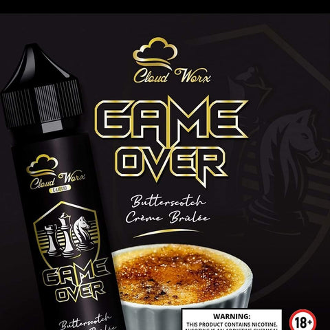 Game Over by Cloud Worx 60ml | Vape Junction
