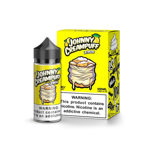 Johnny Cream Puff Lemon 100ml | Vape Junction