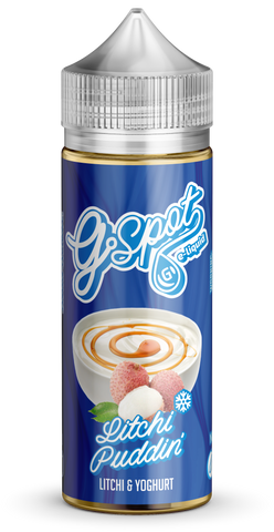 Litchi Puddin' by G Spot E-Liquid 120ml