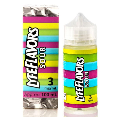 Sour by Lyfe Flavors 100ml | Vape Junction
