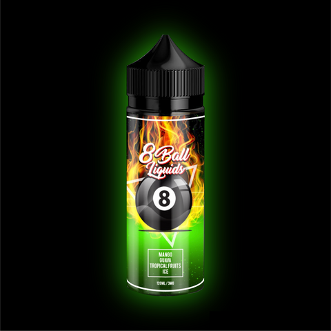 Mango Guava Tropical on Ice by 8 Ball Liquids 120ml | Vape Junction