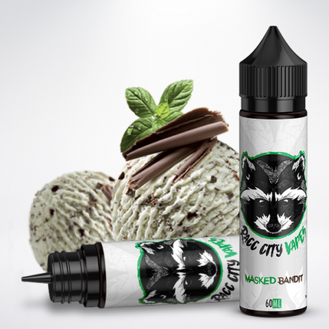 Racc City Vapes Masked Bandit 60ml | Vape Junction