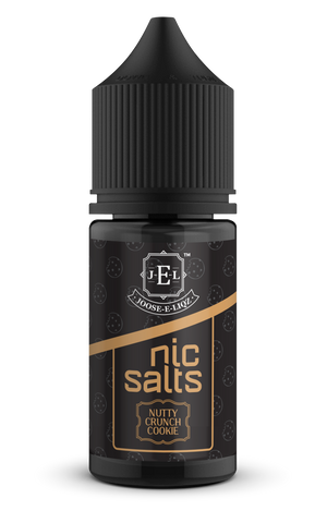 Joose-E-Liqz I Nutty Crunch Cookie Nic Salts 30ml | Vape Junction