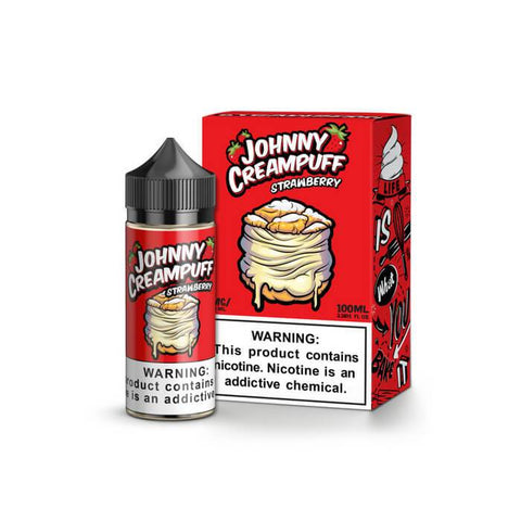 Johnny Creampuff Strawberry 100ml | Vape Junction