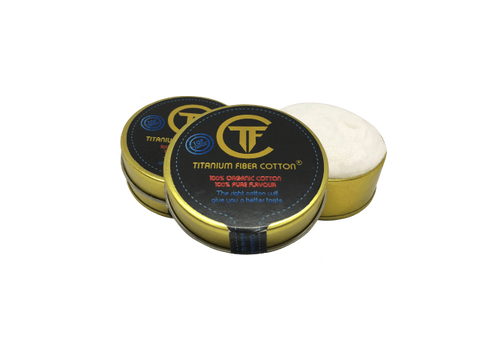 Titanium Fiber Cotton | Vape Junction