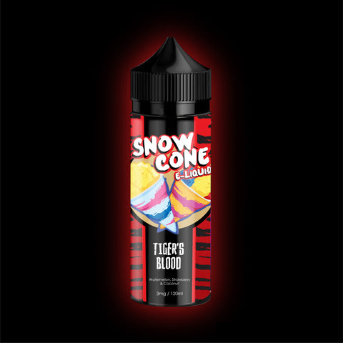 Tigers Blood by Snow Cone E-Liquid 120ml | Vape Junction