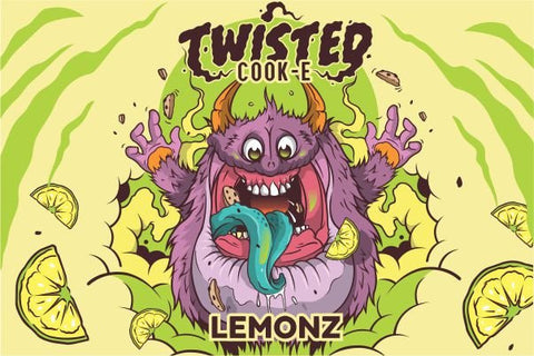 Twisted Cook-E Lemonz 50ML | Vape Junction