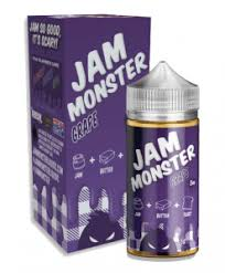 Grape - Jam Monster 100ML | Vape Junction