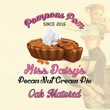 Pompous Pom I Oak Aged - Miss Daisy's Pecan Nut Cream Pie 60ml