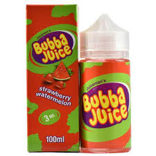 JuiceMan's Bubba Juice Strawberry Watermelon Bubble Gum 100ml | Vape Junction