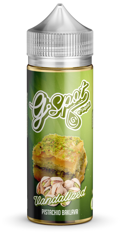 Vandalized by G Spot E-Liquid 120ml