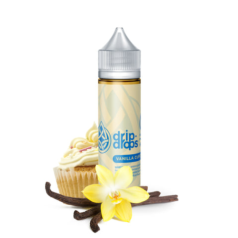 Vanilla Cupcake by Drip Drops 60ml | Vape Junction