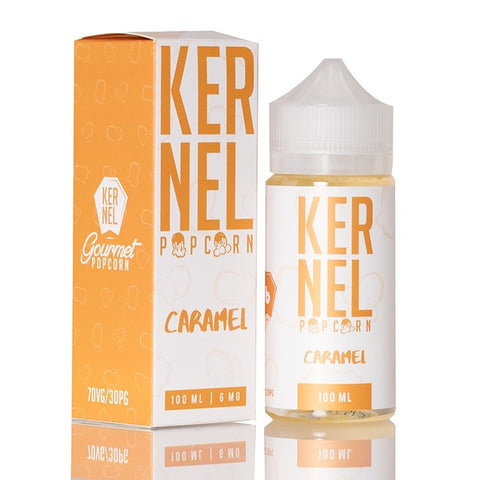 Caramel Popcorn by Kernel Vapor 100ml | Vape Junction