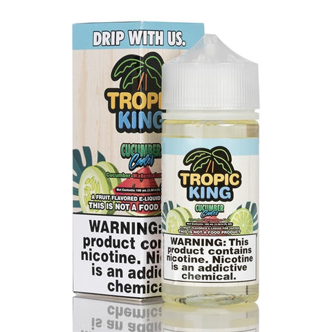 Cucumber Cooler by Tropic King 100ml | Vape Junction