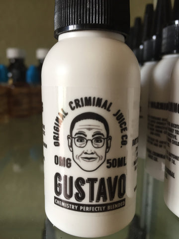 Original Criminal | Gustavo 50ml | Vape Junction