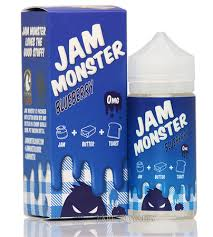 Blueberry - Jam Monster 100ML | Vape Junction