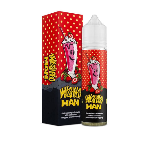 Milkshake Man Strawberry by Marina Vape 60ml | Vape Junction