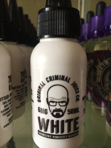 Original Criminal | White 50ml | Vape Junction