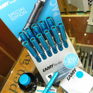 Lamy AL-star Pacific Fountain pen - Special Edition