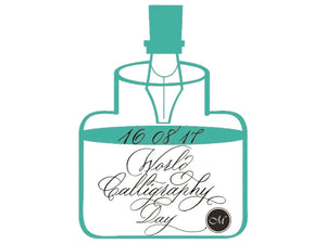 World Calligraphy Day - 16th August 2017