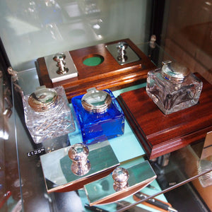 Silver Plated Inkwells by Hardwicke Collection arrive at Penfax