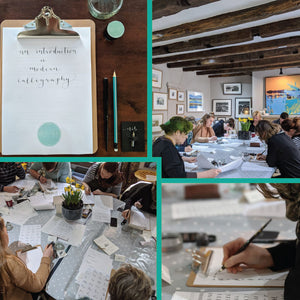 Modern Calligraphy Workshops proving great success...