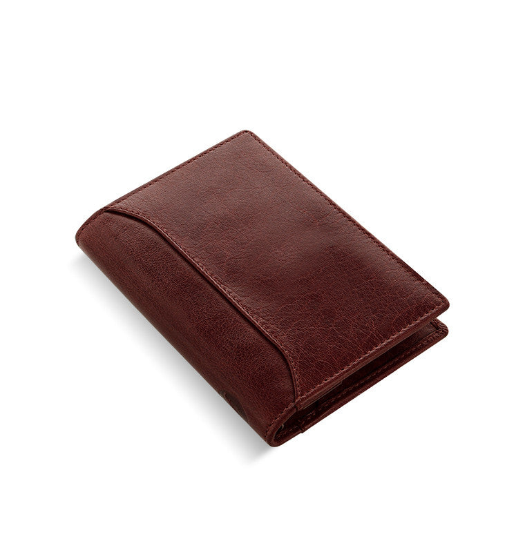 Filofax Lockwood Pocket Slim - Garnet