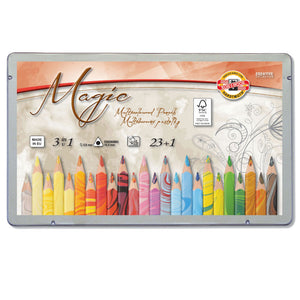 Koh-I-Noor Magic Colouring Pencil 23+1