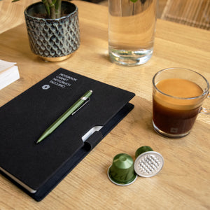 Caran d'Ache 849 ballpoint pen Nespresso India Green Limited Edition 2