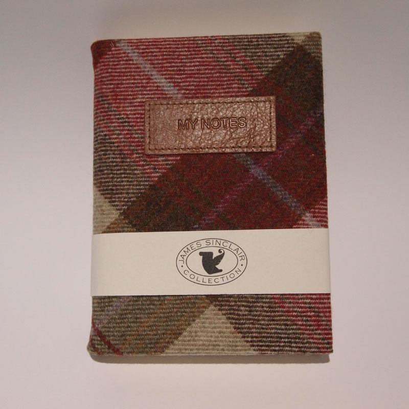 James Sinclair B6 Notebook lined - Bamburgh