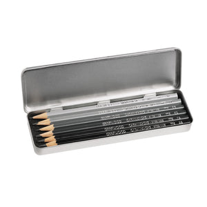Caran d'Ache Grafwood 775 Pencils and Tin (6) - image 2