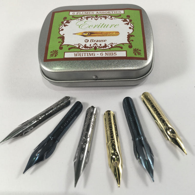 Brause Writing Calligraphy nib set