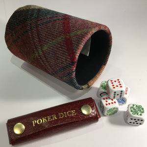 cathian poker dice with james sinclair shaker pot