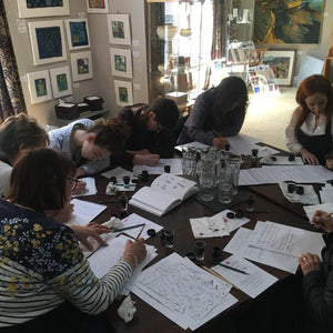 Penfax Calligraphy Workshop in action image 2