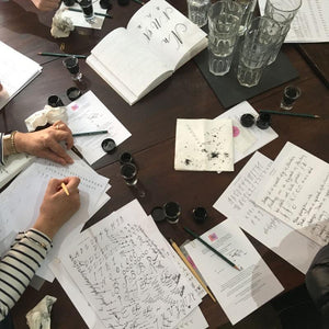 Penfax Calligraphy Workshop in action image 3