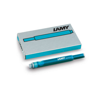 LAMY T 10 Giant Ink Cartridge Fountain Pen Refill Pacific Blue