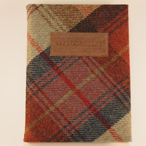 James Sinclair small address book - Norham