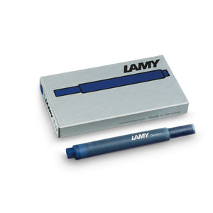 LAMY T 10 Giant Ink Cartridge Fountain Pen Refill Blue-Black (Navy)