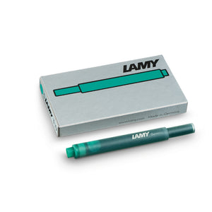 LAMY T 10 Giant Ink Cartridge Fountain Pen Refill Green