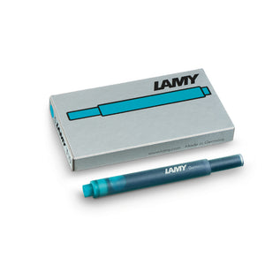 LAMY T 10 Giant Ink Cartridge Fountain Pen Refill Turquoise
