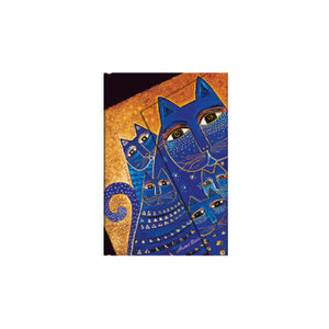 Paperblanks Laurel Burch Fantastic Felines Journal - Mediterranean Cats Mini